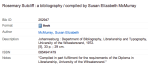 Book details for McMurray bibliography about Rosemary Sutcliff