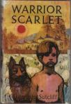 Rosemary Sutcliff's Warrior Scarlet hardback cover