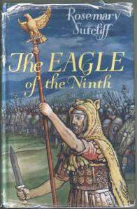 The Eagle of the Ninth, original book jacket OUP