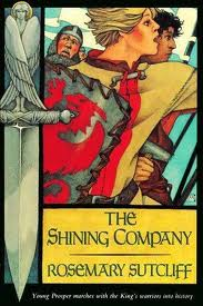 The Shining Company by Rosemary Sutcliff cover