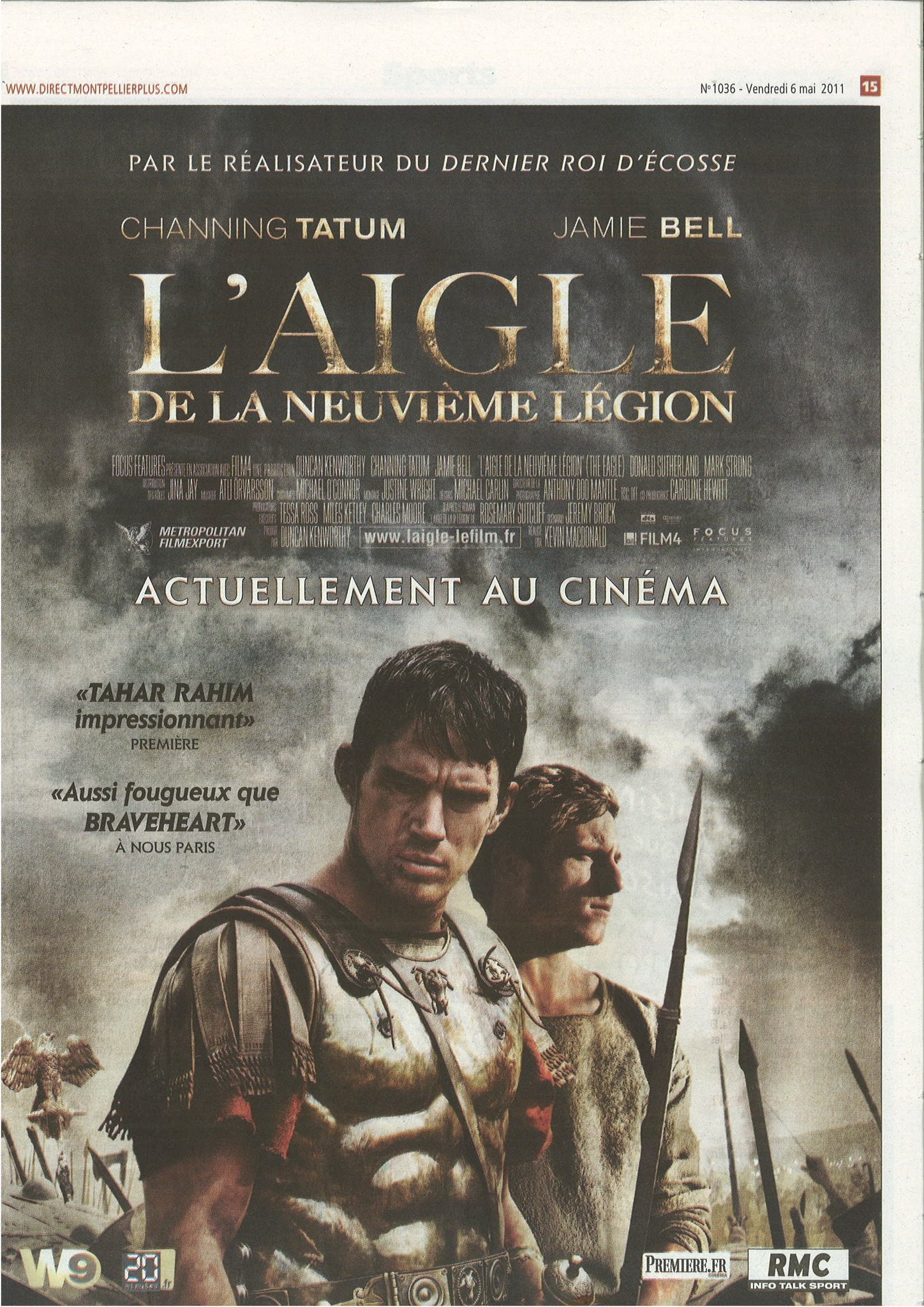 French poster for The Eagle of the Ninth film | L'Aigle de la ...