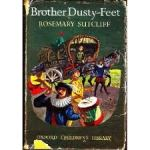 Brother Dusty Feet historical fiction by Rosemary Sutcliff original UK cover
