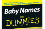 Cover of Baby Names for Dummies