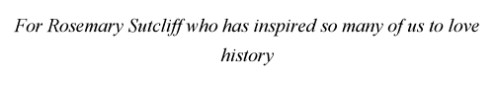 Dedication of Gladiator-Fight for Freedom by Simon Scarrow