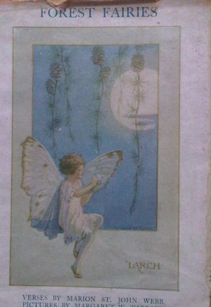 Forest Fairies cover from Rosemary Sutcliff's library