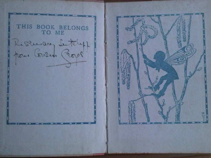 Forest Fairies in Rosemary Sutcliff's library.