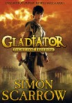 Gladiator by Simon Scarrow, dedicated to Rosemary Sutcliff