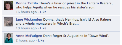 Monks, friars and nuns in Rosemary Sutcliff's books