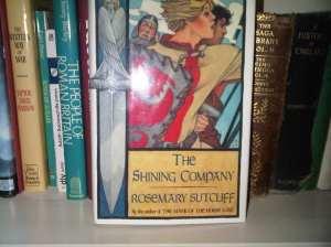 The US edition of Rosemary Sutcliff novel The Shining Company