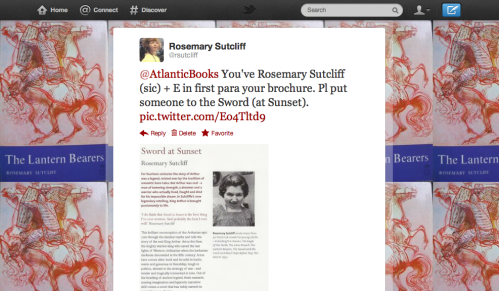 Copy of Tweet to Atlantic Books
