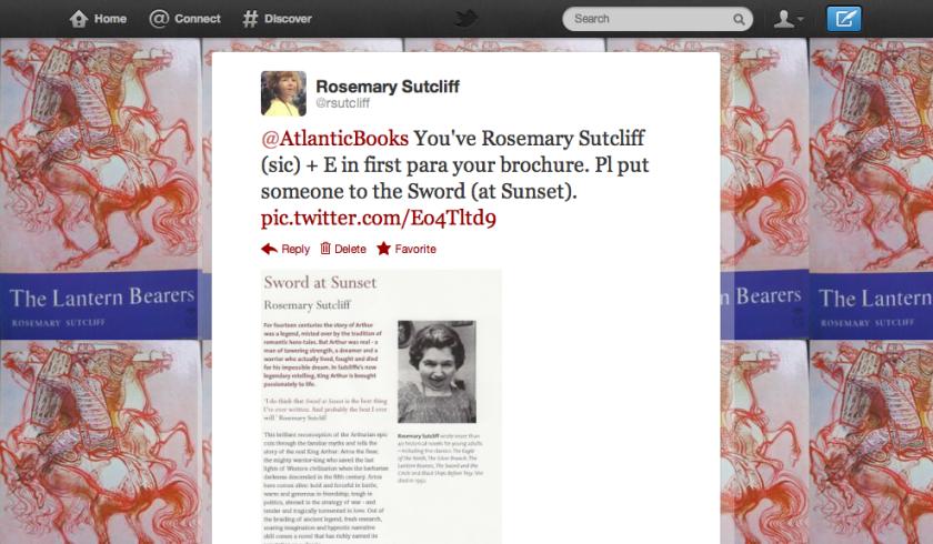 Copy of Tweet to Atlantic Books