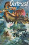 Outcast by Rosemary Sutcliff hardback cover