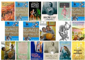 Rosemary Sutcliff  Beowulf  Cover on BING search