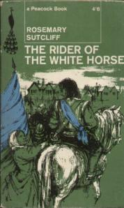 he Rider of the White Horse by Rosemary Sutcliff, Paperback cover 2