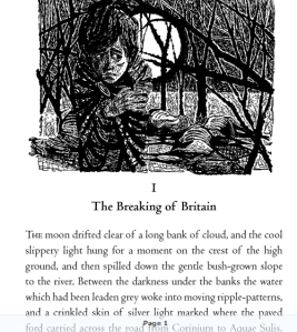 The first paragraph of Rosemary Sutcliff's Dawn Wind