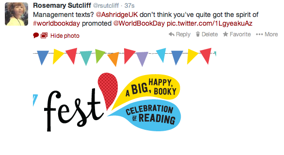 It's World Book Day 2014—for childen?