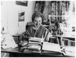 Portrait of Rosemary Sutcliff by Mark Gerson