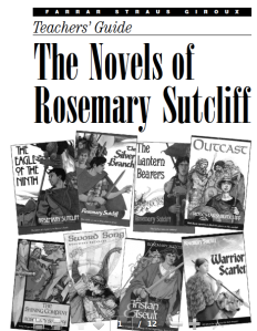 Teachers' Guide on Rosemary Sutcliff by publishers