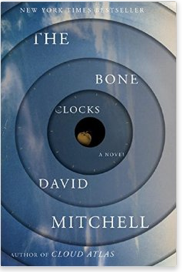 Cover of The Bone Clocks by David Mitchell