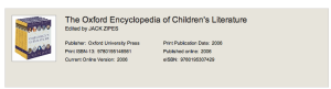 Critical comments about Rosemary Sutcliff from The Oxford Encyclopedia of Children's Literature