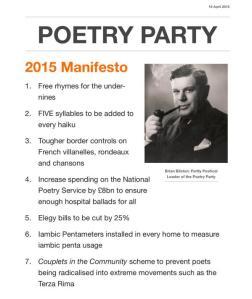 Poetry Party Manifesto 2015